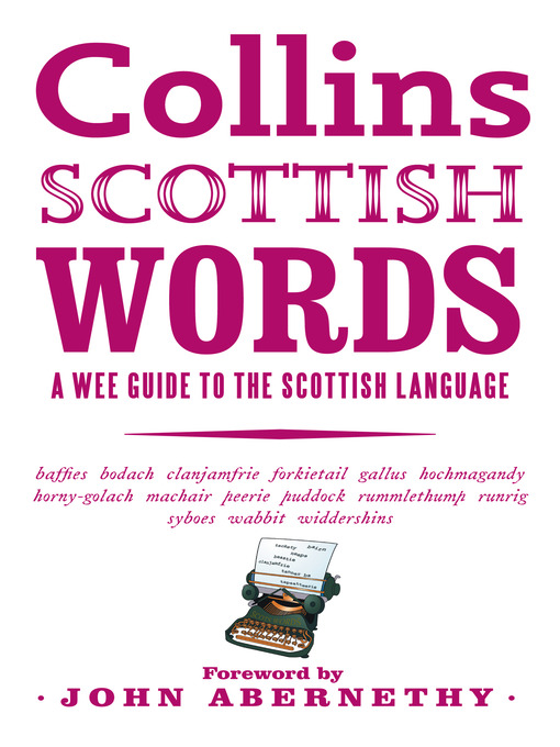Collins Scottish Words (eBook): A wee guide to the Scottish language