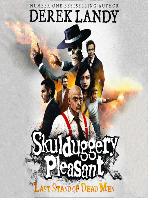 Last Stand of Dead Men (MP3): Skulduggery Pleasant Series, Book 8