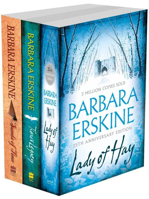 Barbara Erskine 3-Book Collection (eBook): Lady of Hay, Time's Legacy, Sands of Time