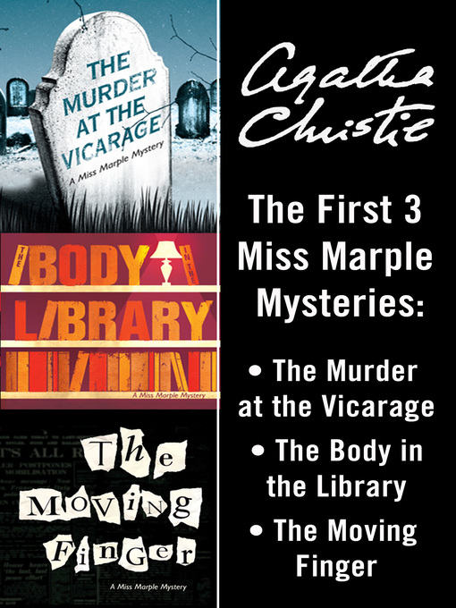 Miss Marple (eBook): The Murder at the Vicarage; The Body in the Library; The Moving Finger