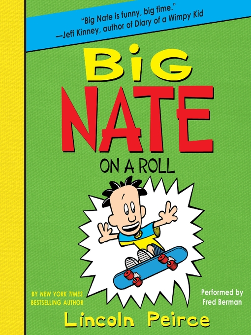 Cover image for Big Nate on a Roll