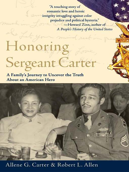 Cover image for Honoring Sergeant Carter
