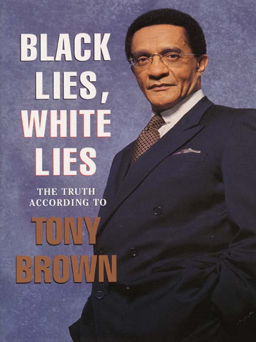 Cover image for Black Lies, White Lies
