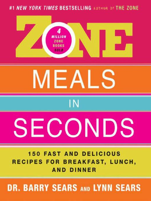 Zone Meals in Seconds (eBook)