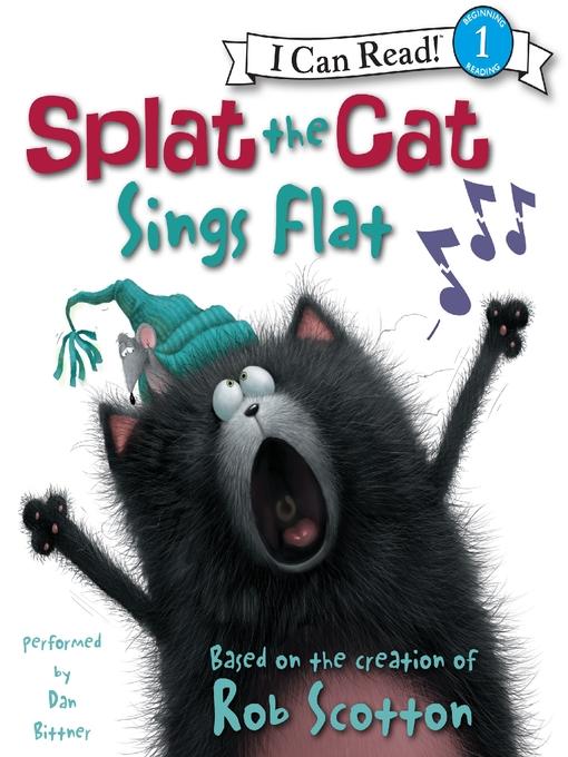 Splat the Cat Sings Flat (MP3)