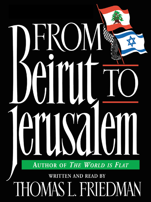 From Beirut to Jerusalem (MP3)