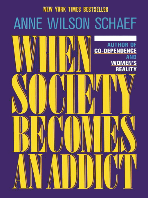 When Society Becomes an Addict (eBook)