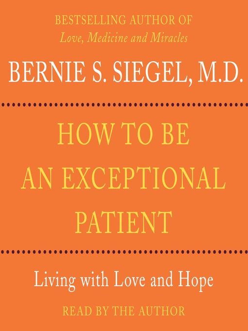 How to Be An Exceptional Patient (MP3)