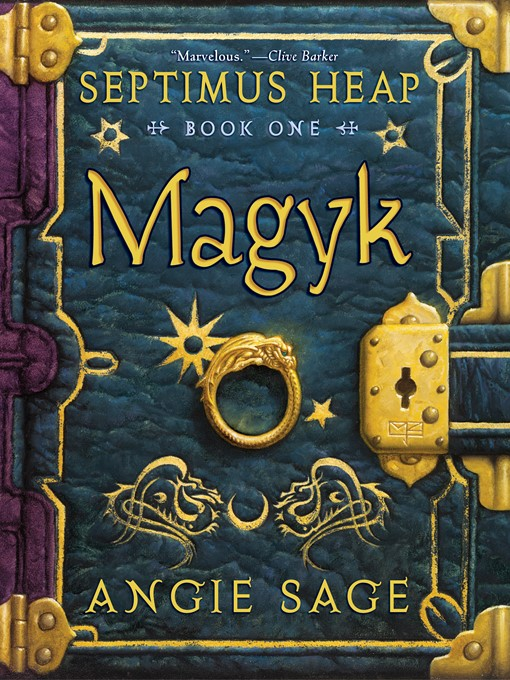 Magyk Septimus Heap Series, Book 1