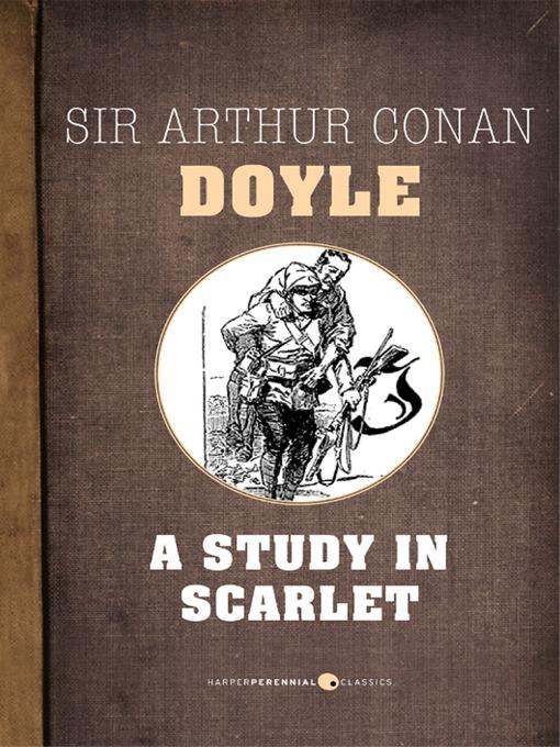 A Study in Scarlet (eBook): Sherlock Holmes Series, Book 1