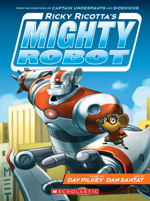 Cover Image of Ricky Ricotta's mighty robot