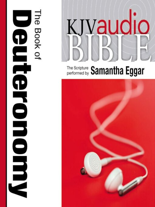 King James Version Audio Bible (MP3): The Book of Deuteronomy Performed by Samantha Eggar