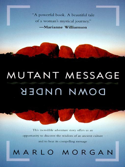 Mutant Message Down Under book