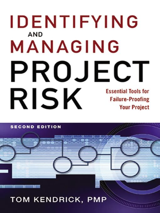 project, risk, toby elwin, Tom Kendrick, pmp, project risk