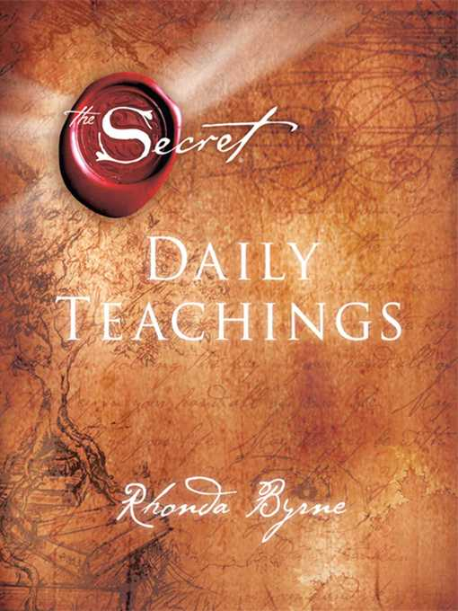 The Secret Daily Teachings (eBook)