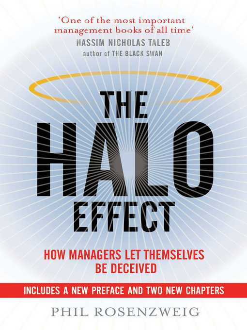 The Halo Effect (eBook): How Managers Let Themselves Be Deceived