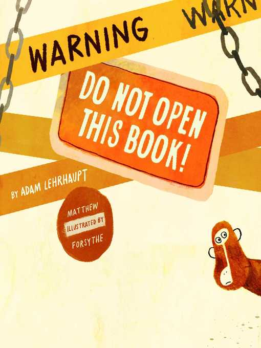 Warning Do Not Open This Book!