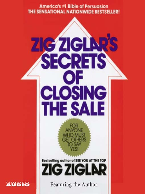 The Secrets of Closing the Sale (MP3)