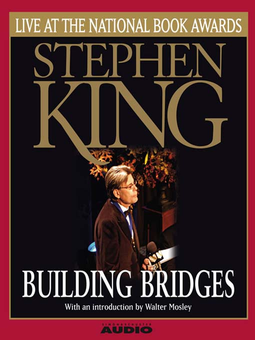 Building Bridges (MP3): Stephen King Live at the National Book Awards
