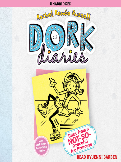 Tales from a Not-So-Graceful Ice Princess (MP3): Dork Diaries Series, Book 4