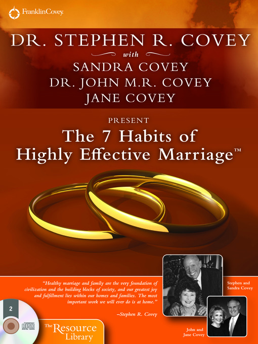 The 7 Habits of Highly Effective Marriage (MP3)