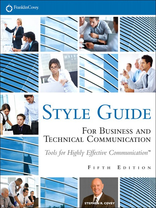 FranklinCovey Style Guide (eBook): For Business and Technical Communication