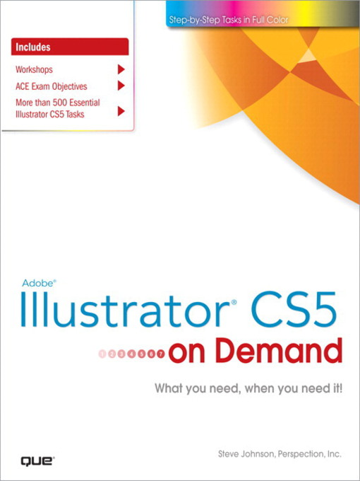 Adobe® Illustrator® CS5 on Demand - On Demand (eBook)