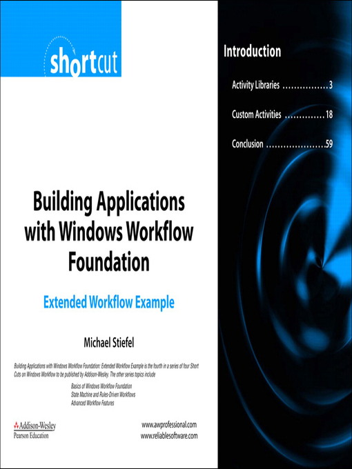 Building Applications with Windows Workflow Foundation (WF) (eBook)