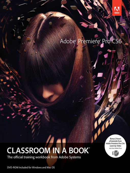 Adobe Premiere Pro CS6 Classroom in a Book (eBook)