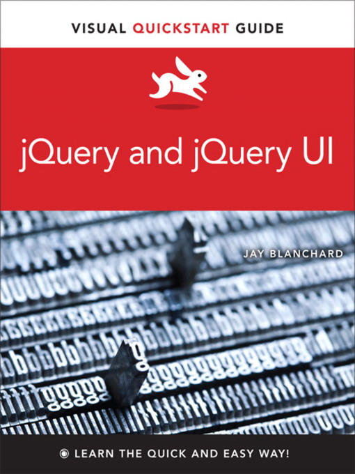 jQuery and jQuery UI (eBook): Visual QuickStart Guide