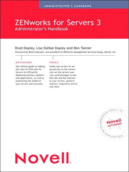 Novell ZENworks<sup>TM</sup> for Servers 3 Administrator&#39;s Handbook (eBook)