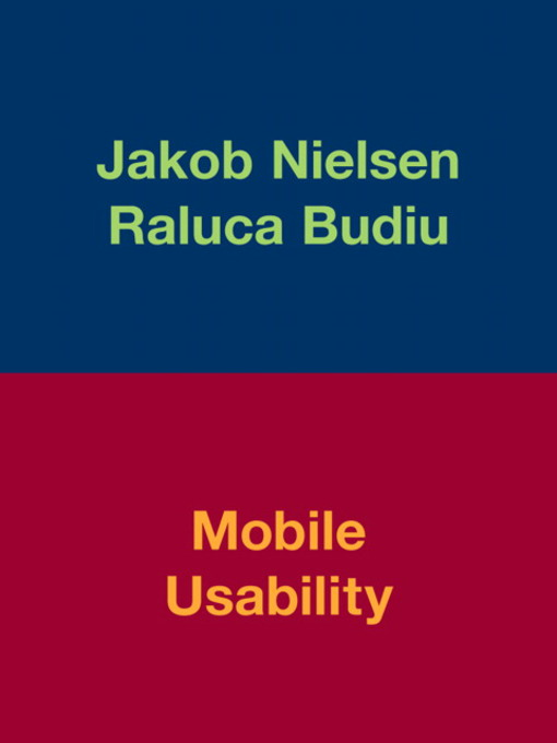 Mobile Usability (eBook)