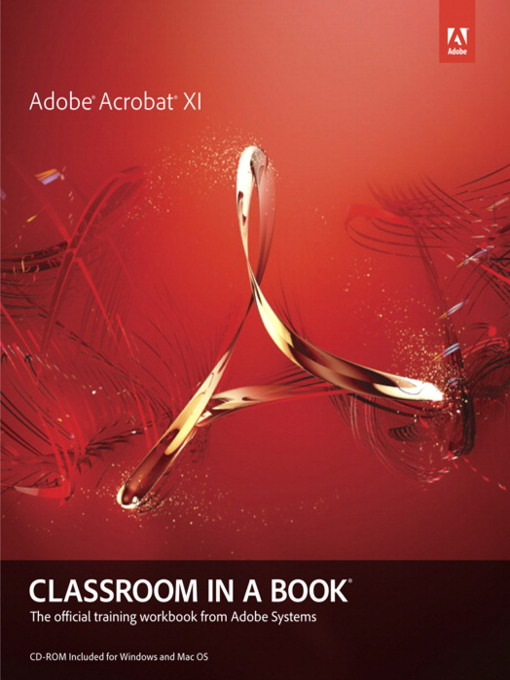Adobe Acrobat XI Classroom in a Book (eBook)