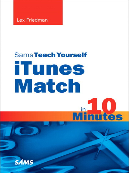 Sams Teach Yourself iTunes Match in 10 Minutes (eBook)