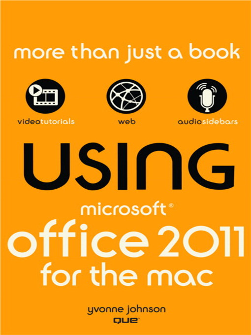 Using Microsoft Office for Mac 2011 (eBook)