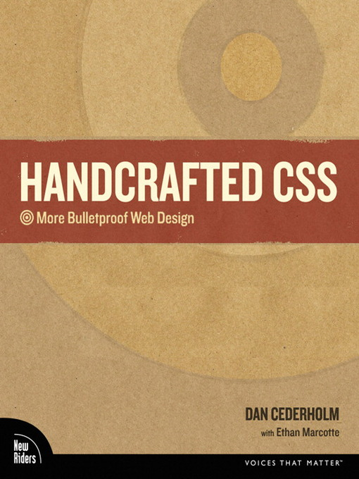 Handcrafted CSS: More Bulletproof Web Design - Voices That Matter (eBook)