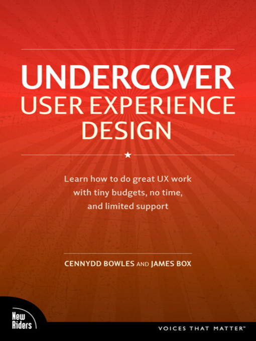Undercover User Experience Design (eBook)