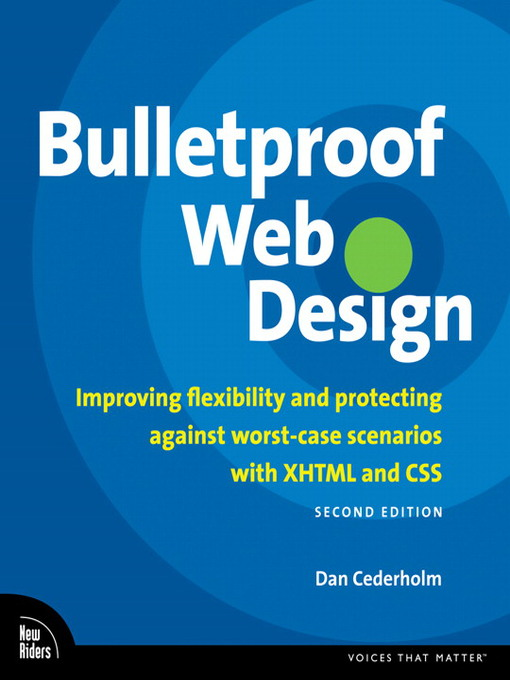 Bulletproof Web Design: Brendan Dawes on Interaction Design (eBook)