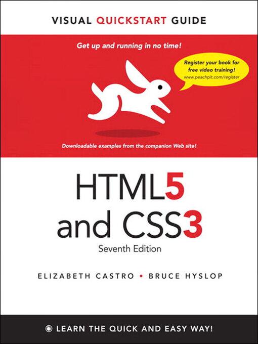 HTML5 - Visual QuickStart Guide (eBook)