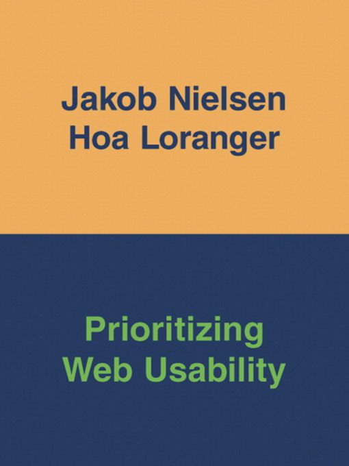 Prioritizing Web Usability (eBook)