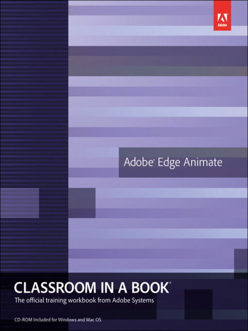 Adobe Edge Animate Classroom in a Book (eBook)