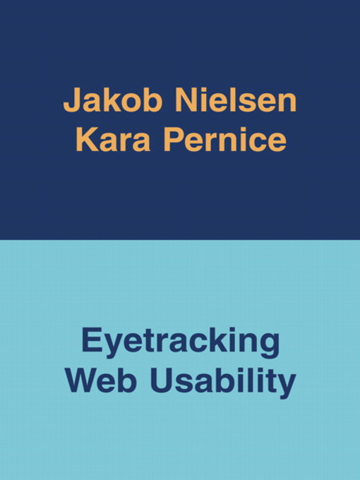 Eyetracking Web Usability (eBook)
