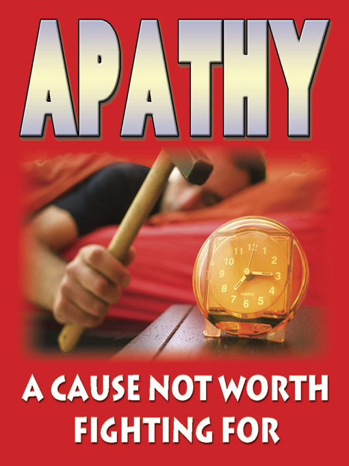 Apathy (eBook): A Cause Not Worth Fighting For