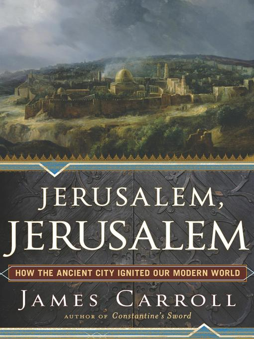 Cover image for Jerusalem, Jerusalem