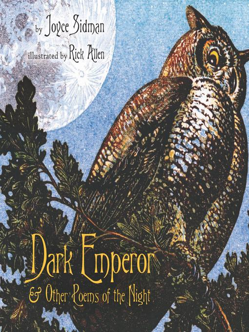 Cover image for Dark Emperor and Other Poems of the Night