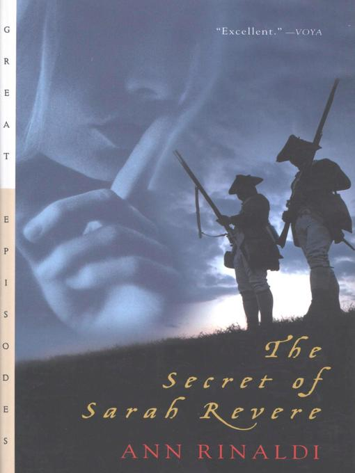 Cover image for The Secret of Sarah Revere