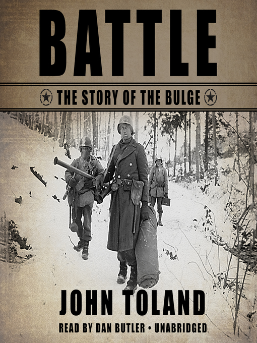 Battle: The Story of the Bulge (MP3)