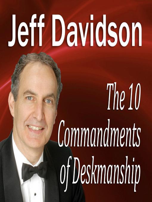 The 10 Commandments of Deskmanship (MP3)