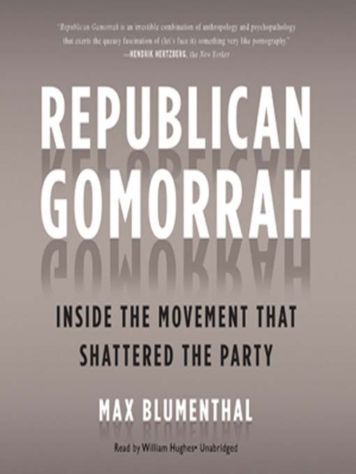 Cover image for Republican Gomorrah