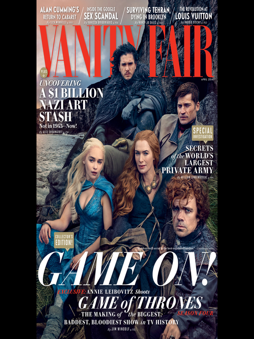 Vanity Fair: April 2014 Issue (MP3)